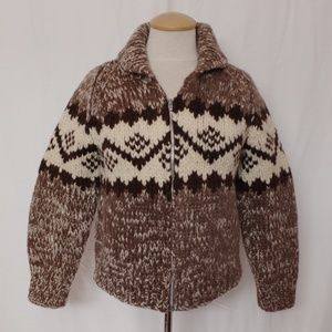 Sweaters - *2 TIME HOST PICK!* Cowichan Sweater NWOT- Sz XS P